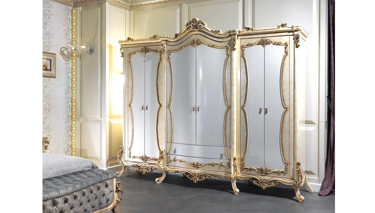 Lüks Afitap Klasik Yatak Odası