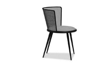 1009 - Lüks Afra Metal Ayaklı Sandalye