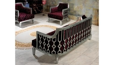 Lüks Aksara Art Deco Koltuk Takımı - Thumbnail