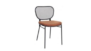 1009 - Lüks Alad Metal Ayaklı Sandalye