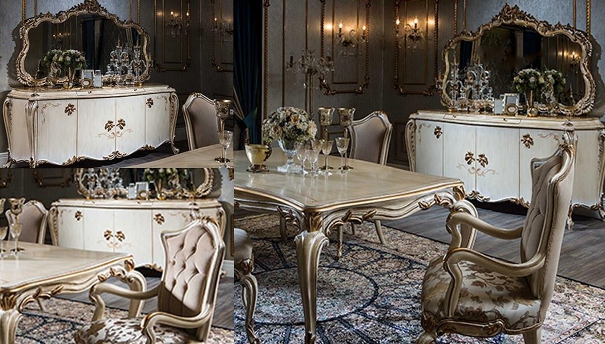 Lüks Alara Klasik Yemek Odası