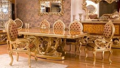 903 - Lüks Alasya Ceviz Klasik Yemek Odası