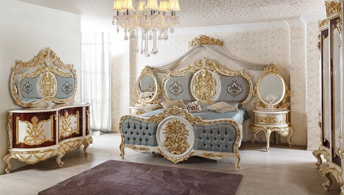 Lüks Alasya Klasik Yatak Odası