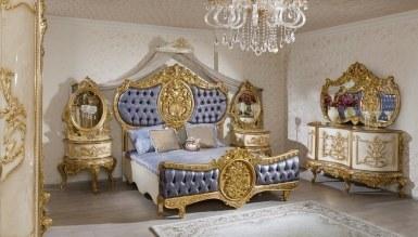 Lüks Alasya Klasik Yatak Odası - Thumbnail
