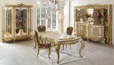 Lüks Alasya Klasik Yemek Odası - Thumbnail