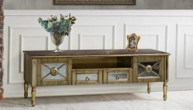 908 - Lüks Aleksia Art Deco TV Ünitesi