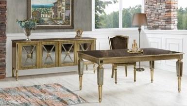 908 - Lüks Aleksia Art Deco Yemek Odası