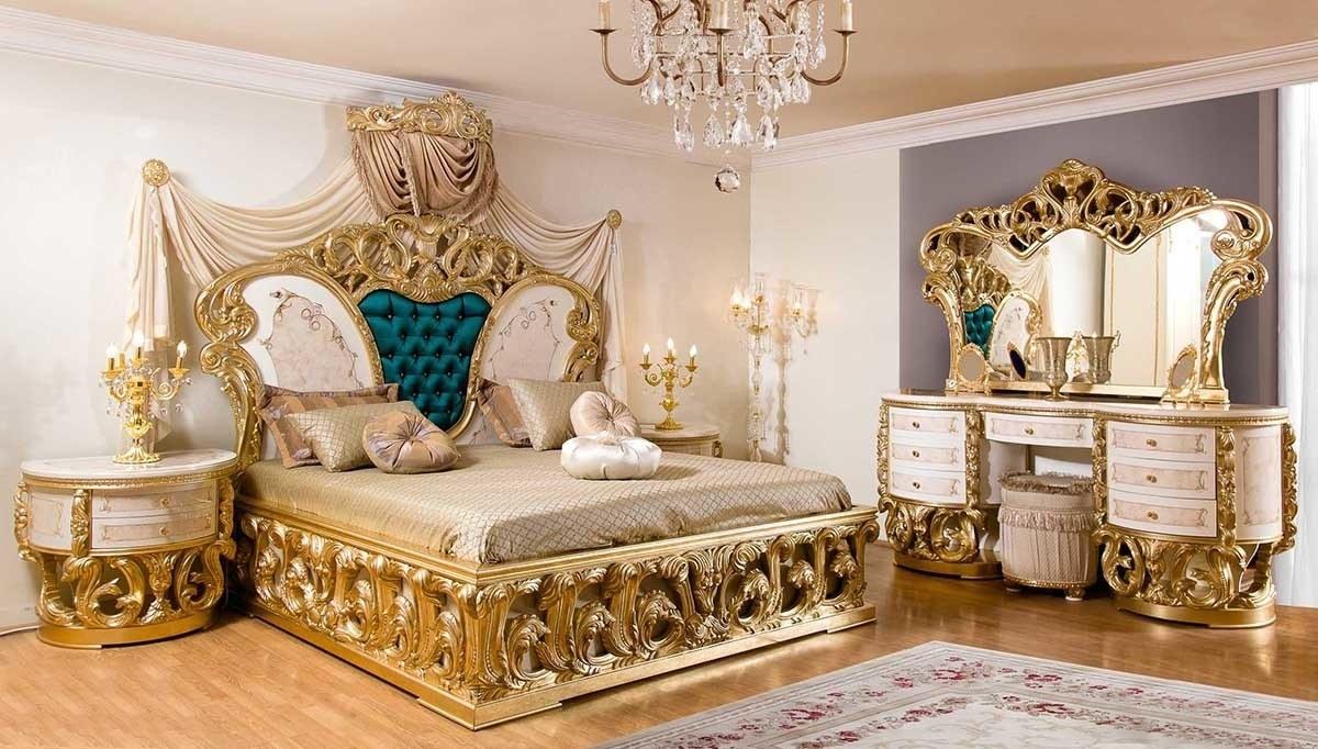 Lüks Alenas Lake Klasik Yatak Odası