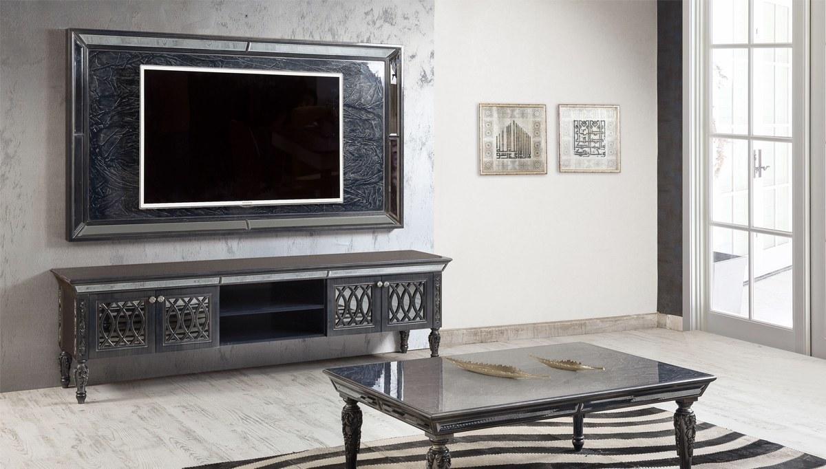 Lüks Alfons Art Deco TV Ünitesi