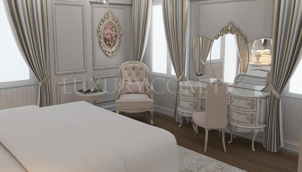 Lüks Algartos Klasik Yatak Odası