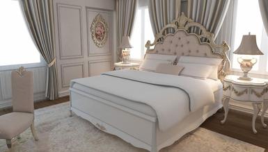 Lüks Algartos Klasik Yatak Odası - Thumbnail