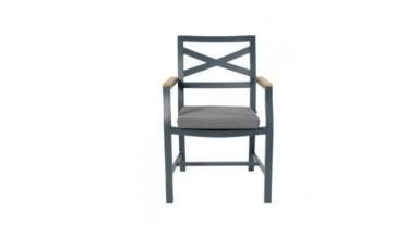 Lüks Alkan Metal Ayaklı Sandalye - Thumbnail