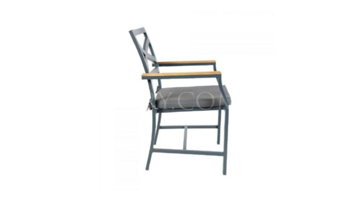 Lüks Alkan Metal Ayaklı Sandalye