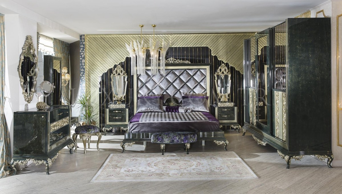 Lüks Almera Klasik Yatak Odası