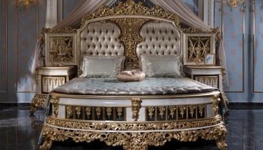 Lüks Altay Klasik Yatak Odası - Thumbnail