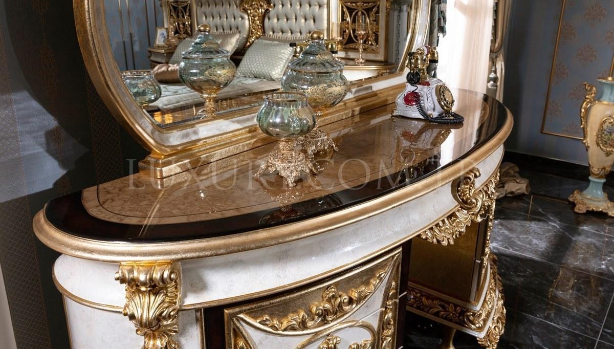 Lüks Altay Klasik Yatak Odası