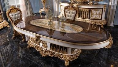 Lüks Altay Klasik Yemek Odası - Thumbnail
