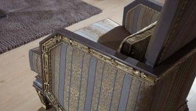 Lüks Amasra Art Deco Koltuk Takımı - Thumbnail