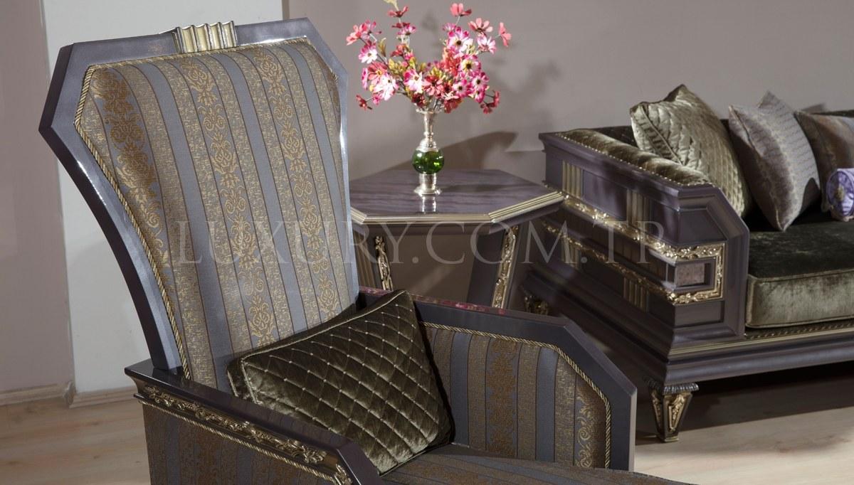 Lüks Amasra Art Deco Koltuk Takımı