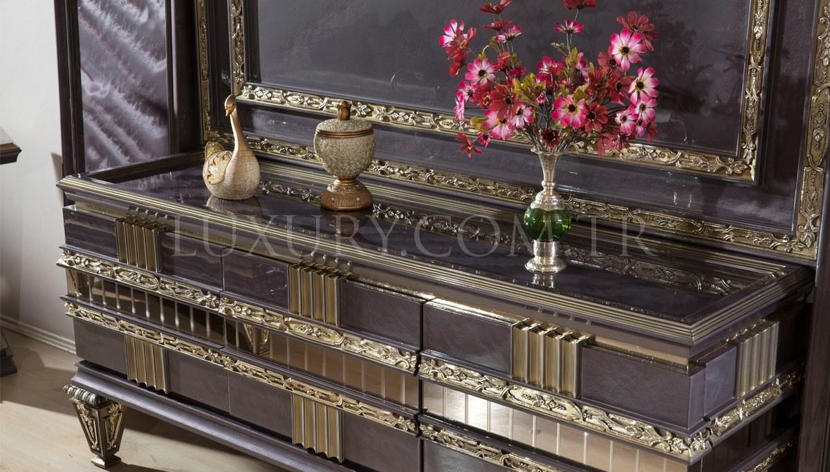 Lüks Amasra Art Deco TV Ünitesi