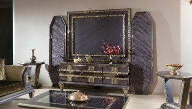 Lüks Amasra Art Deco TV Ünitesi - Thumbnail