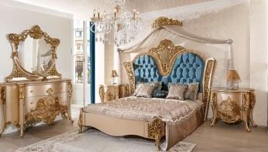 Analiz Oymalı Klasik Yatak Odası - Thumbnail