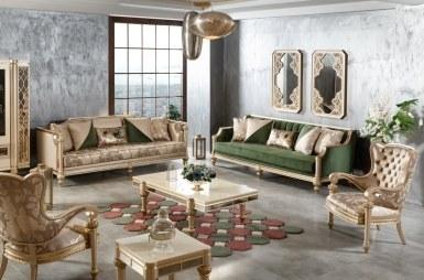 Lüks Andulo Klasik غرفة الجلوس