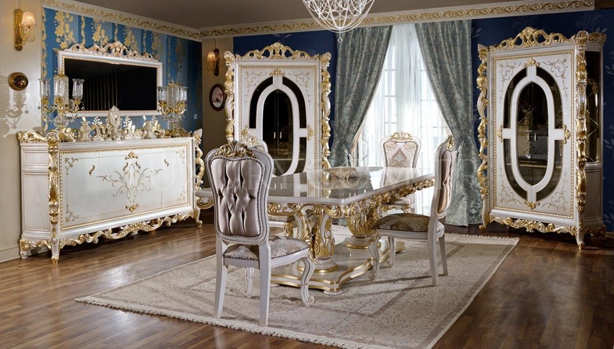 Lüks Angelas Klasik Yemek Odası