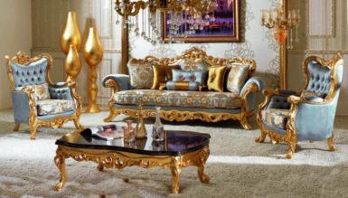 Lüks Anka Klasik غرفة الجلوس