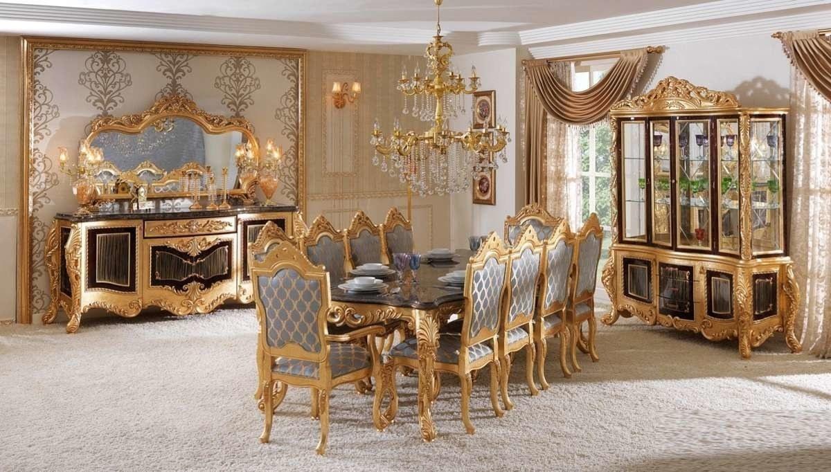 Lüks Anka Klasik Yemek Odası