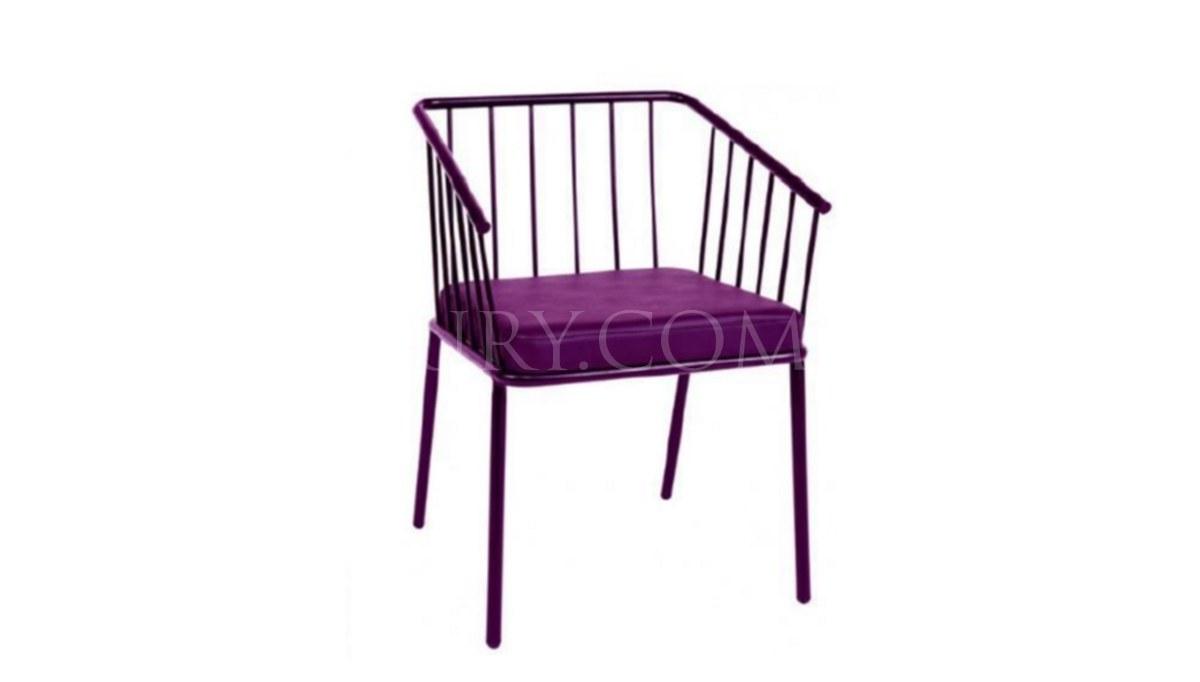 Lüks Anna Metal Ayaklı Sandalye