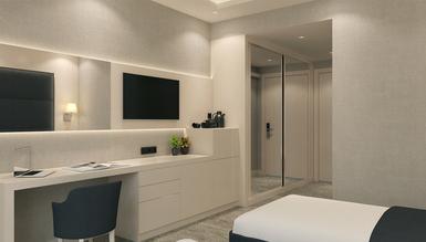 Lüks Aperas Otel Odası - Thumbnail