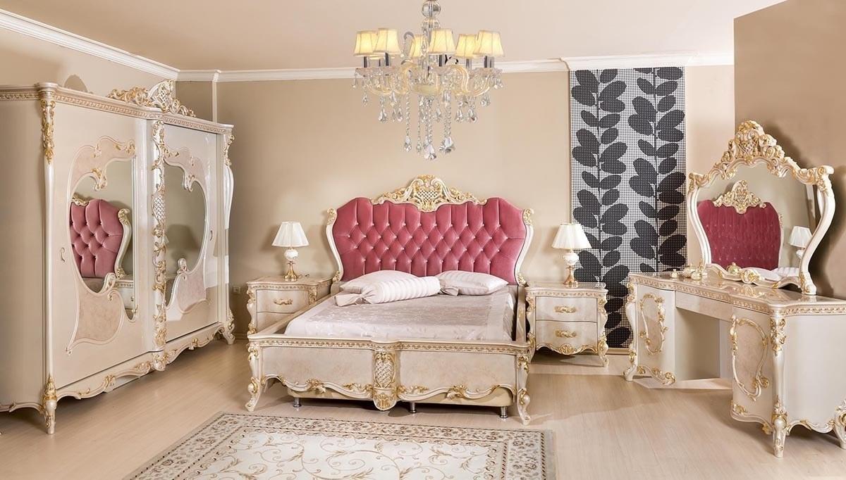 Lüks Arande Klasik Yatak Odası