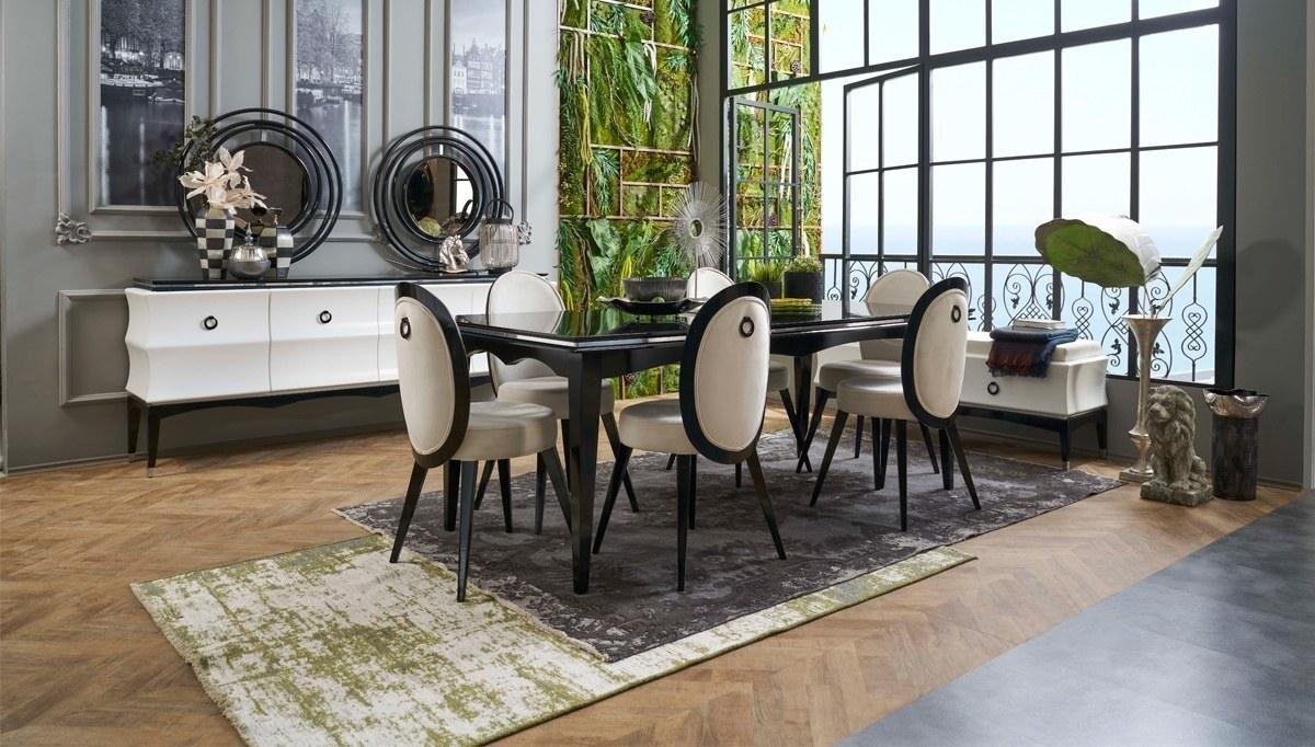 Lüks Ardea Art Deco Yemek Odası