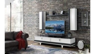 Lüks Arendal Aytaşı Modüler TV Ünitesi - Thumbnail
