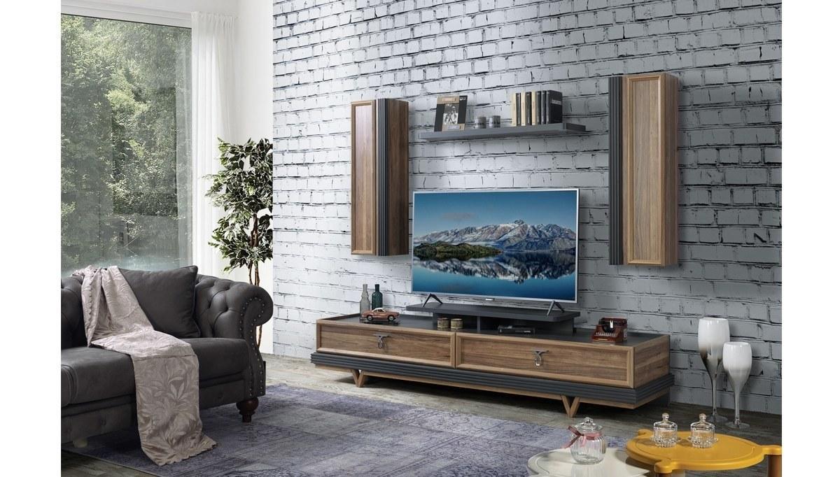 Lüks Arendal Modüler TV Ünitesi