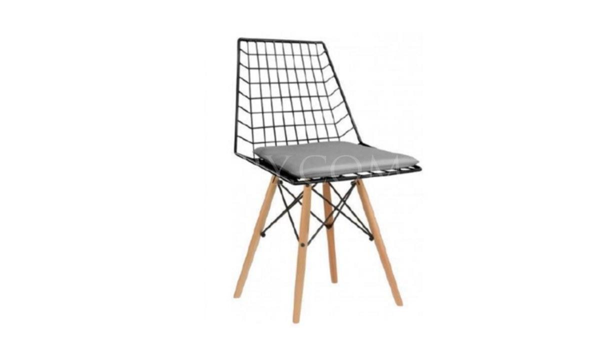 Lüks Arissa Ahşap Ayaklı Sandalye