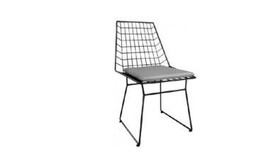 1009 - Lüks Arissa Metal Ayaklı Sandalye
