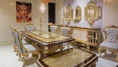 525 - Lüks Artesa Klasik Yemek Odası
