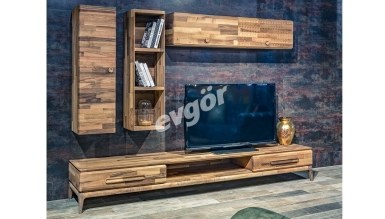 078 - Lüks Arzera Ahşap TV Ünitesi
