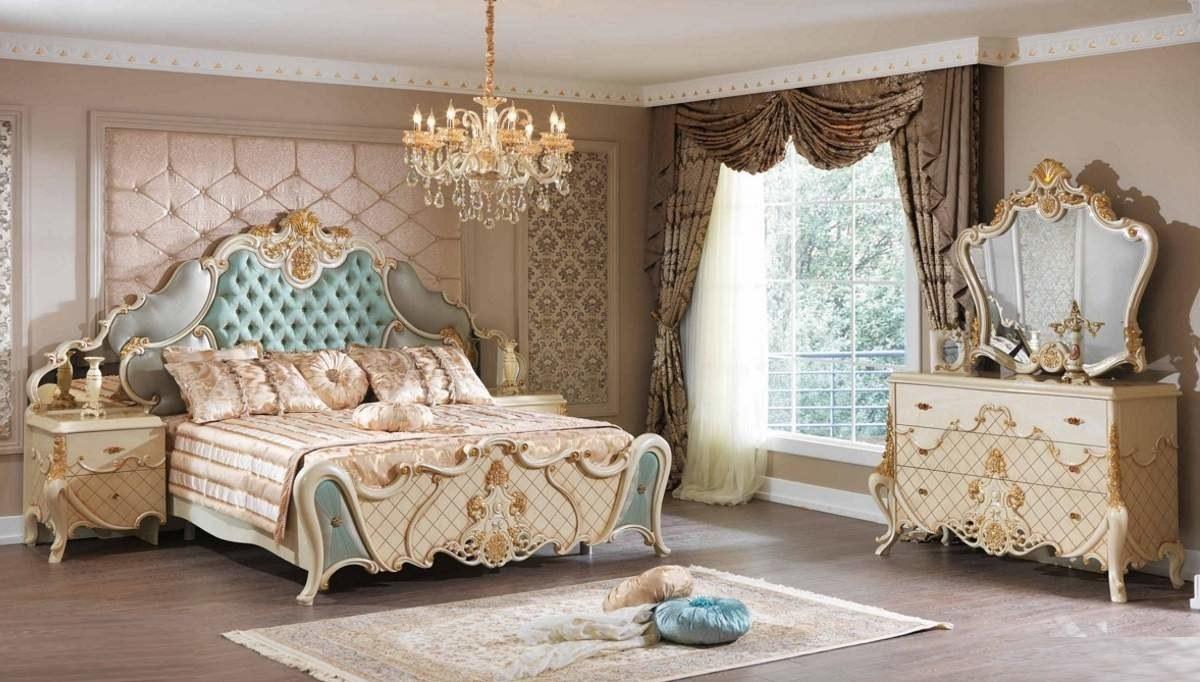 Lüks Asalet Klasik Yatak Odası