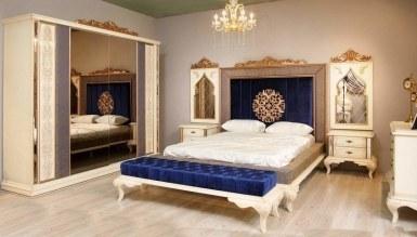 Lüks Asil Klasik Yatak Odası - Thumbnail