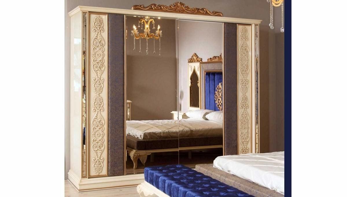 Lüks Asil Klasik Yatak Odası