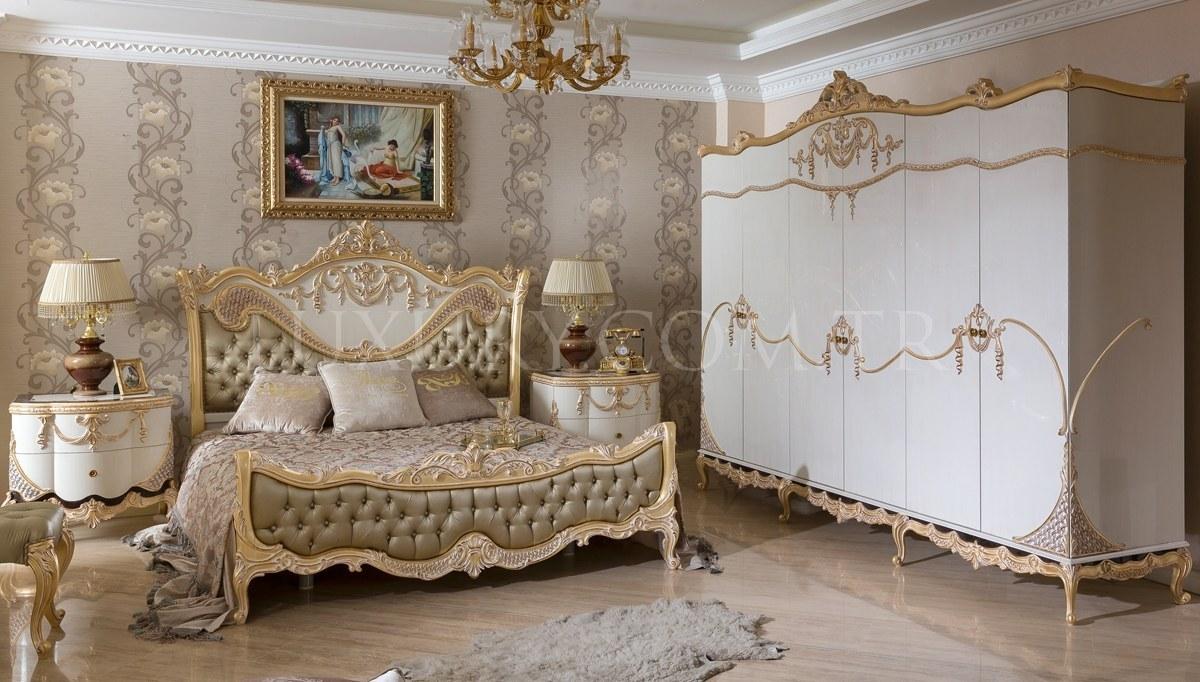 Lüks Astana Klasik Yatak Odası