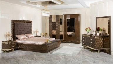 525 - Lüks Astora Metal Yatak Odası