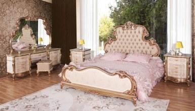 Lüks Atalanta Ceviz Yatak Odası