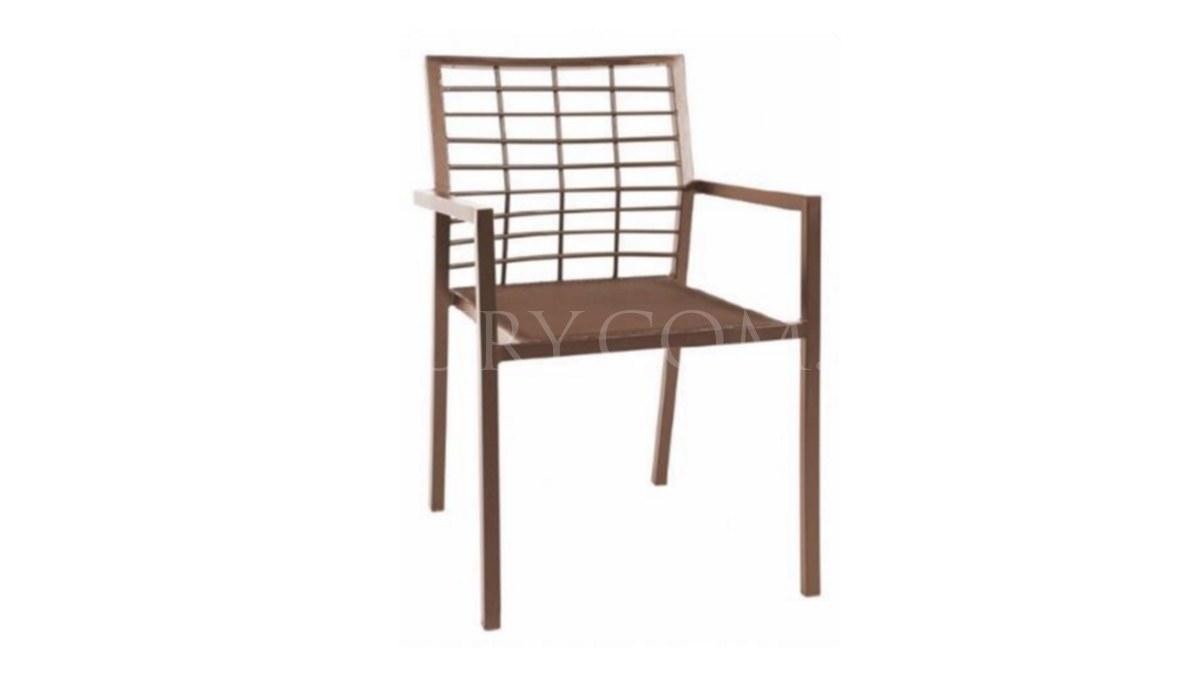 Lüks Atoya Metal Ayaklı Sandalye