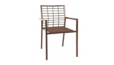 1009 - Lüks Atoya Metal Ayaklı Sandalye
