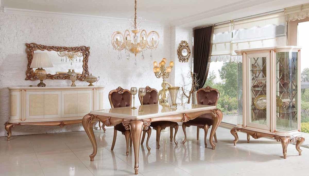 Lüks Avila Klasik Yemek Odası