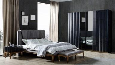 178 - Lüks Ayasofya Siyah Yatak Odası